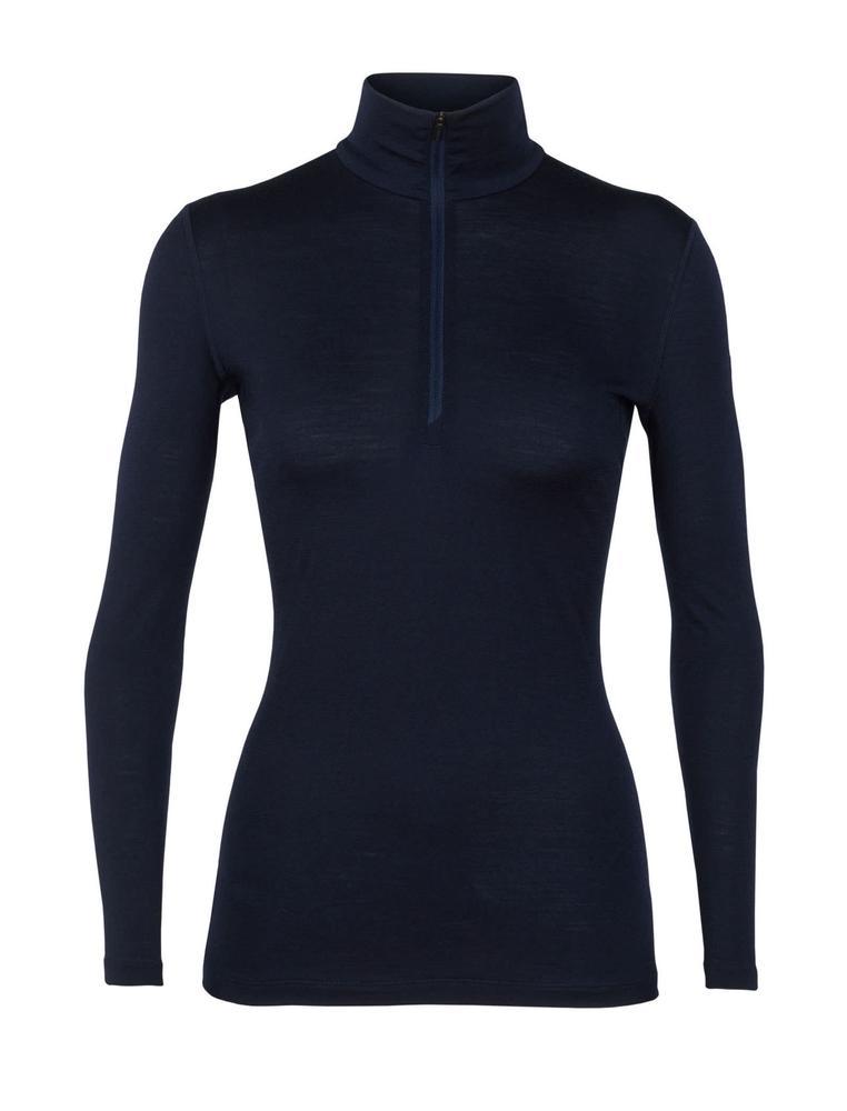 Icebreaker Women's 200 Oasis Long Sleeve Half Zip Shirt