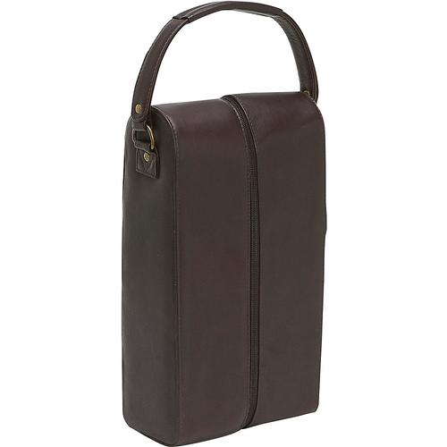 Le Donne Leather 2 Wine Bottle Tote