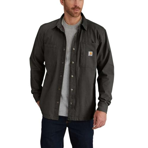 Carhartt Men's Rugged Flex Rigby Shirt Jac - Tall Sizes