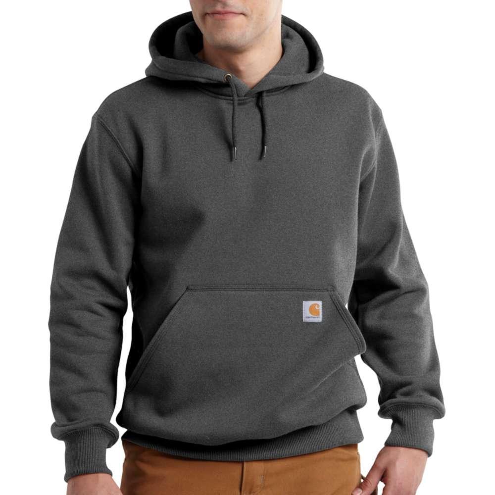 Carhartt Men's Paxton Heavyweight Hooded Sweatshirt CARBON_HEATHER