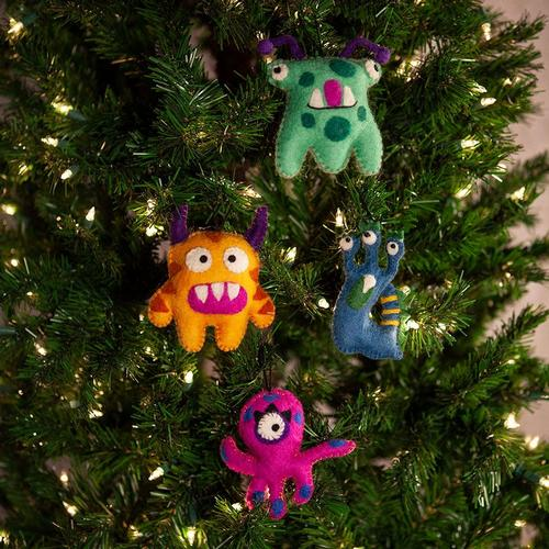 Icelandic Design Monster Ornaments by Newari