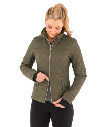 Noble Outfitters Women's Warmup Quilted Jacket