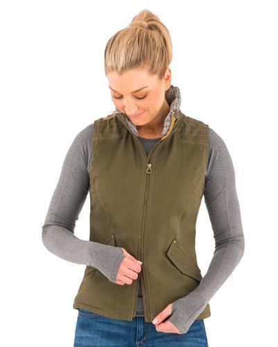 Noble Outfitters Women's Girl Tough Canvas Vest