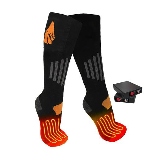 Action Heat 3.7V Rechargeable Heated Socks