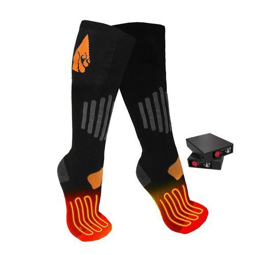 Action Heat AA-Battery Wool Heated Socks