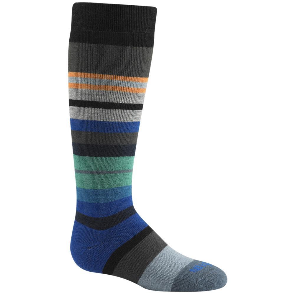 Wigwam Kid's Snow Force Socks BLACK