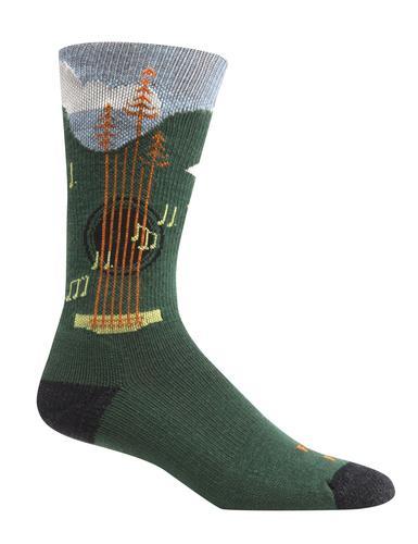 Farm To Feet Men's Floyd Music Festival Crew Sock