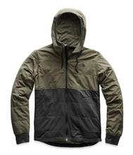 The North Face Men's Mountain Sweatshirt 2 ASPHALT_GREY/GREEN
