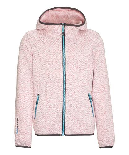 Killtec Kid's Knitted Fleece Jacket With Hood
