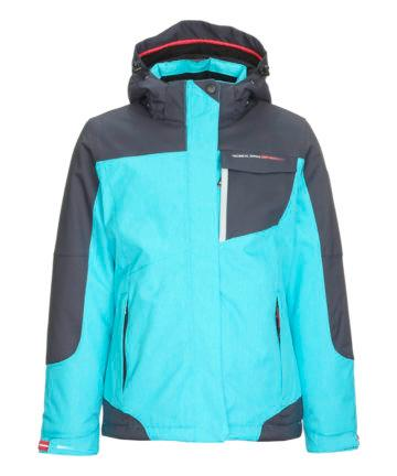 Killtec Kid's Nailah Jr Functional Jacket with Zip Off Hood and Snow Catcher