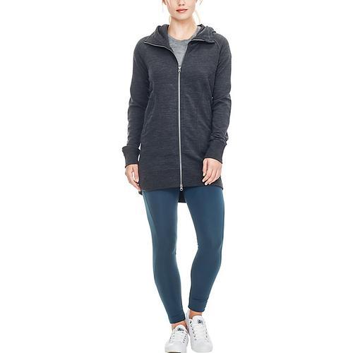 Icebreaker Women's RealFLEECE Dia Long Hooded Jacket