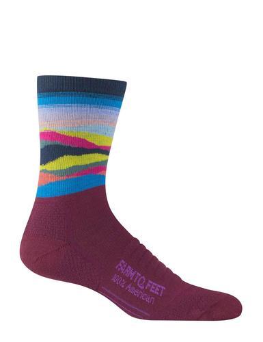 Farm To Feet Max Patch Lightweight Technical 3/4 Crew Socks