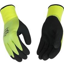 Kinco Hydroflector Waterproof Double Thermal Shell and Double Coated Latex Glove GREEN