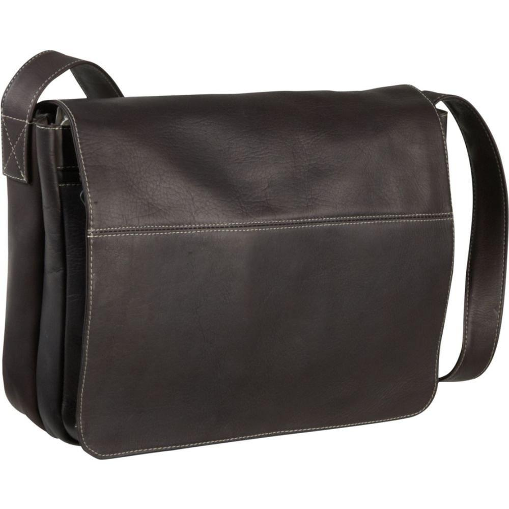 Le Donne Leather Full Flap Messenger Bag