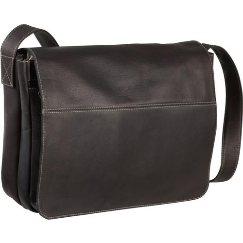Le Donne Leather Full Flap Messenger Bag