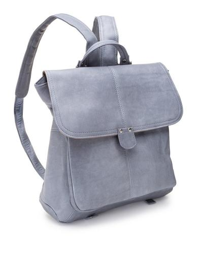 Le Donne Leather Saddle Backpack
