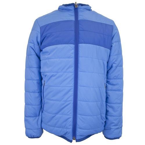 White Sierra Girl's Zephyr Insulated Reversible Jacket