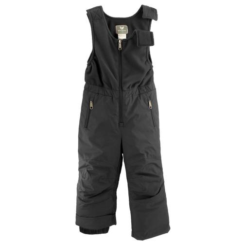 White Sierra Toddler Ski Bib