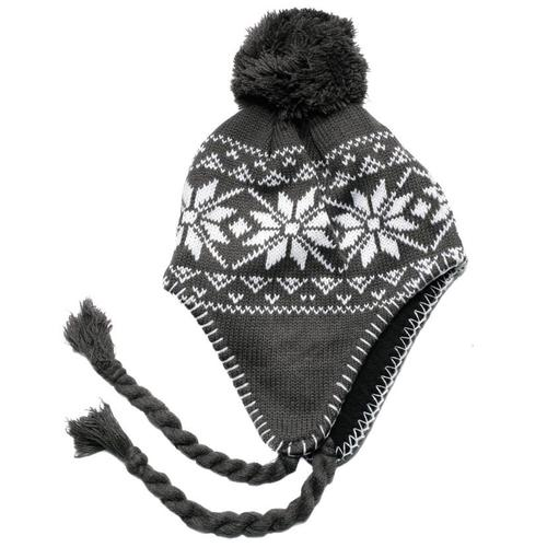 Snowstoppers Kid's Nordic Knit Hat