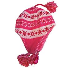 Snowstoppers Kid's Sherpa Knit Hat PINK