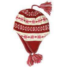 Snowstoppers Kid's Sherpa Knit Hat RED
