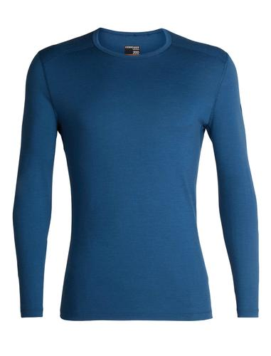 Icebreaker Men's 200 Oasis Long Sleeve Crew Top