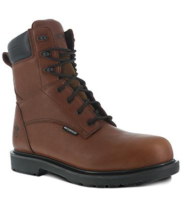 Warson Brands Hauler Plain Toe Waterproof Work Boots