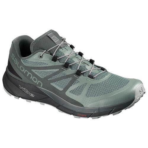 Salomon Men's Sense Ride GTX Invisible Fit Running Shoe Balsam Green