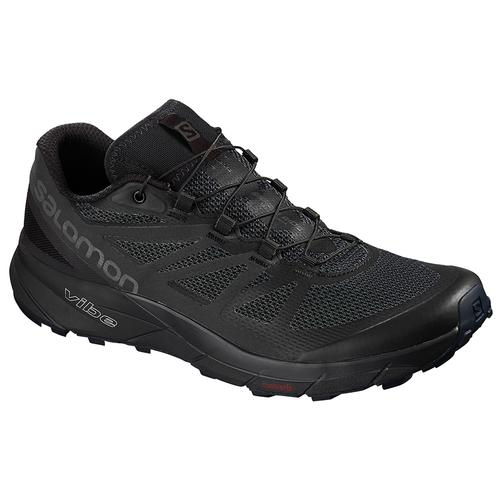 Salomon Men's Sense Ride Running Shoe Black