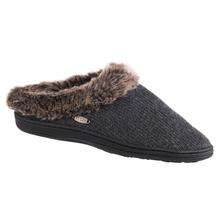 Acorn Women's Chinchilla Clog Slipper DARKCHARCOAL