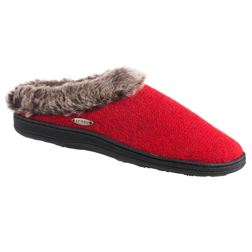 Acorn Women's Chinchilla Clog Slipper