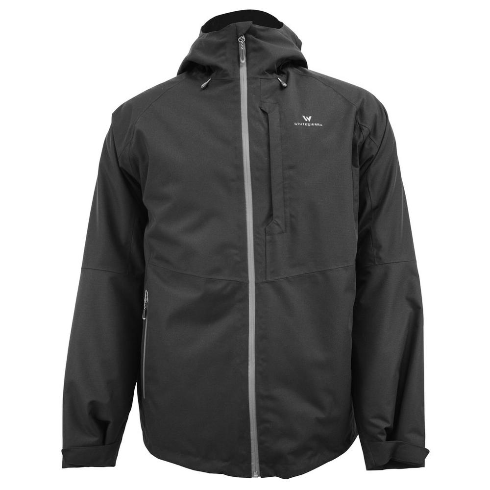 White Sierra Men's Rubicon Insulated Jacket BLACK