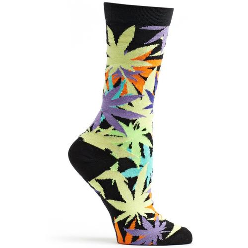 Ozone Women's Laced Weed Sock