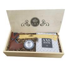 Gransfors Bruks Wildlife Hatchet Gift Box with Sharpening Stone WOOD