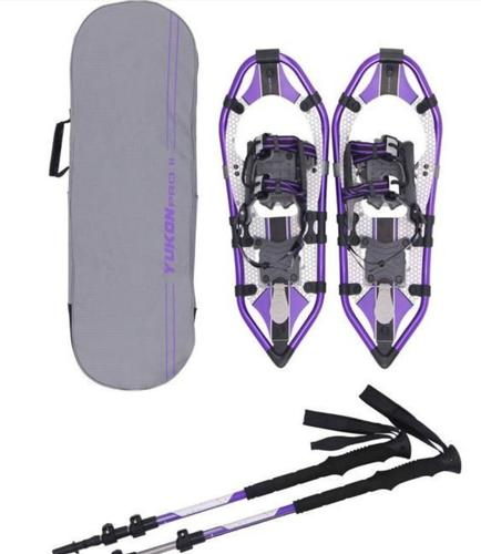 Yukon Charlies Pro 2 Women's 821 Snowshoe Kit Purple