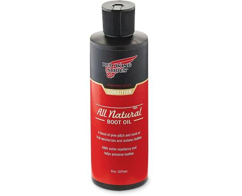 Red Wing Shoes All Natural Boot Oil 8oz