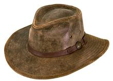 Outback Trading Co. Leather Kodiak Hat BROWN