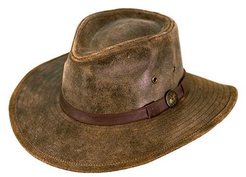 Outback Trading Co. Leather Kodiak Hat