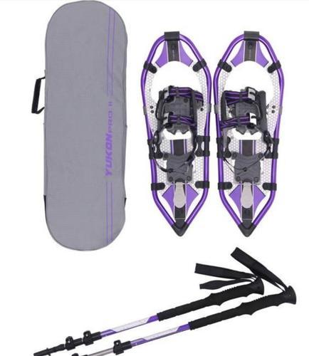 Yukon Charlies Pro 2 Women's 825 Snowshoe Kit Purple