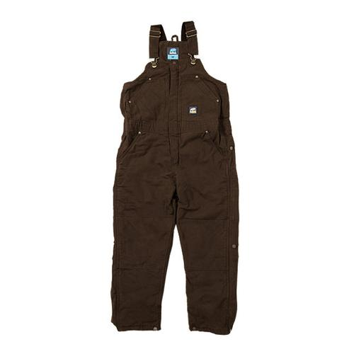 Berne Workwear Youth Washed Insulated Bib Overall