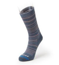 Fits Medium Hiker Striped Crew Sock STORMY_WEATHER