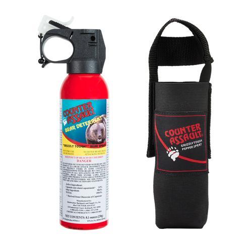 Counter Assault 8oz Bear Spray with Holster
