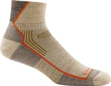 Darn Tough Men's Hiker Quarter Sock Cushion OATMEAL