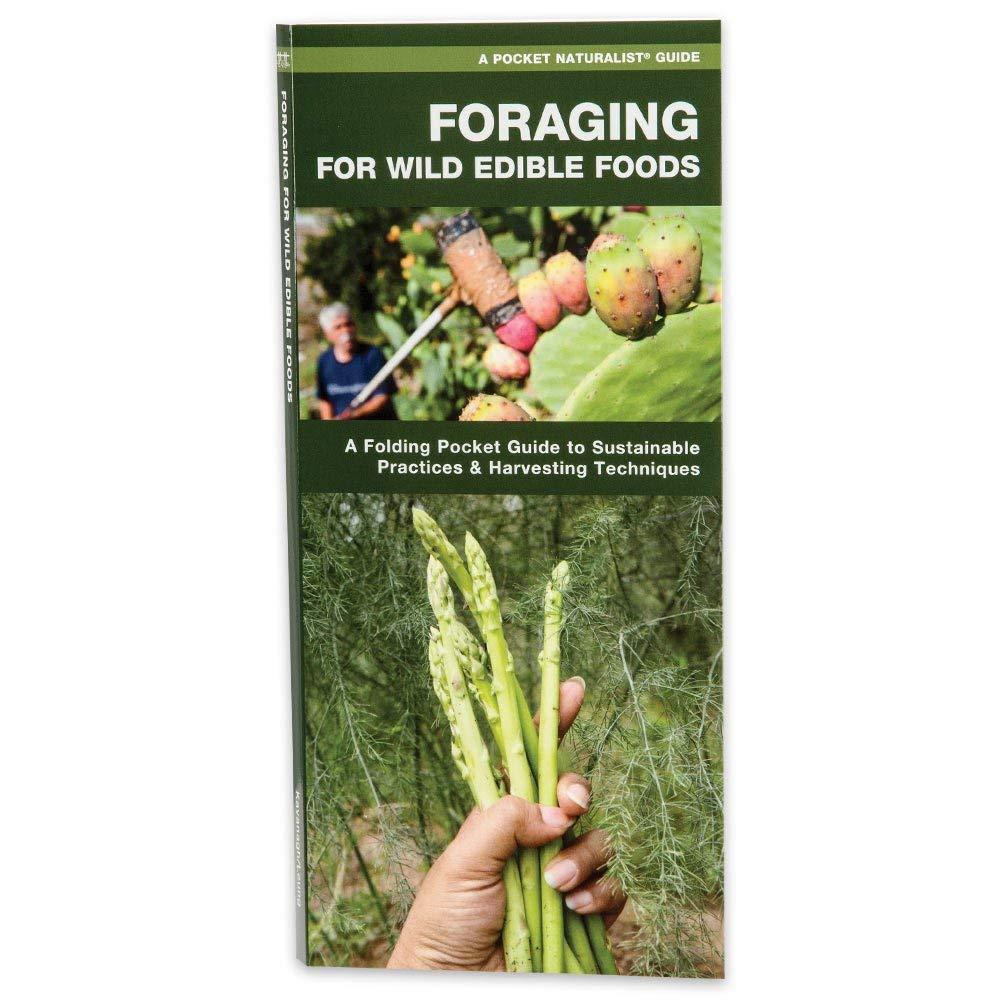 Waterford Press Foraging For Wild Edible Foods Laminated Folding Pocket Guide