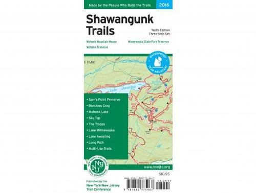 NY/NJ Trail Conference Shawangunk Trail Map