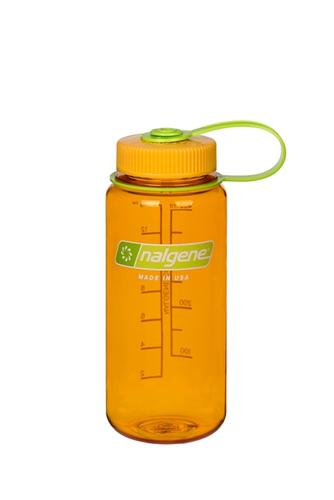 Nalgene Wide Mouth 16oz Bottle Clementine