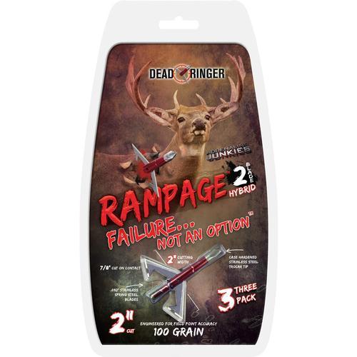 Dead Ringer Rampage 2-blade 100gr 2-in Broadhead