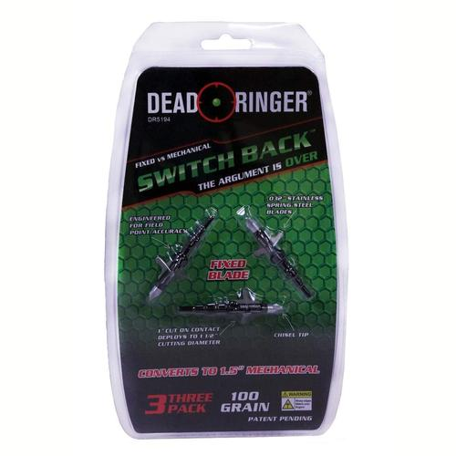 Dead Ringer Switchback Broadhead