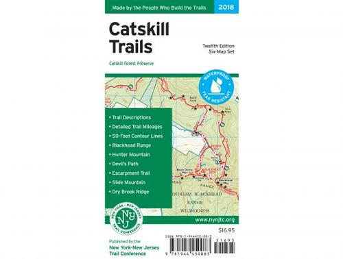 NY/NJ Trail Conference Catskill Trails Map