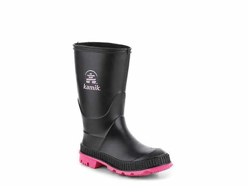 Kamik Big Kid's Stomp Rain Boot